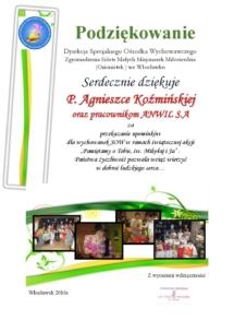 P. AGNIESZKA KOŹMIŃSKA