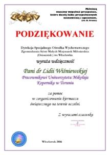 P. LIDII WIŚNIEWSKIEJ