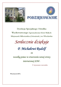 P. MICHAŁ RUDOLF