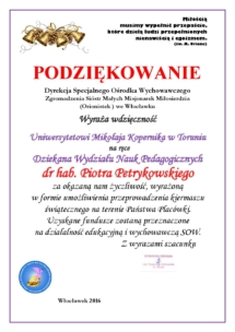 P. PIOTR PETRYKOWSKI